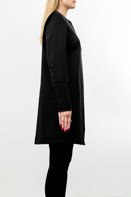 Hips-friendly coat side-look