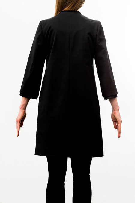 coat for a petite lady