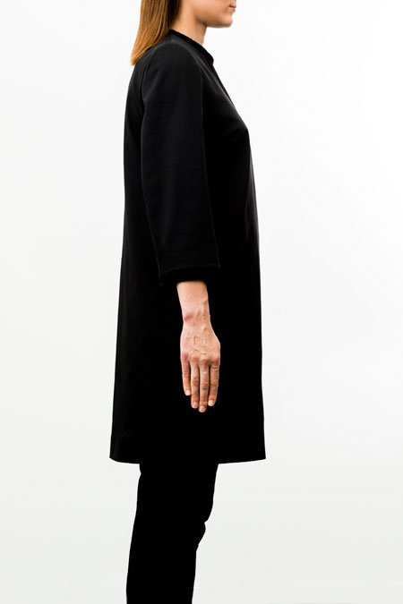 Petite friendly coat - side look