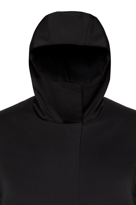 Coatally The Protectally Collar-Hood detail