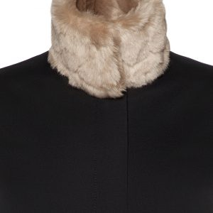 Coataly The Gratefulally detail detail-collar-furr-beige