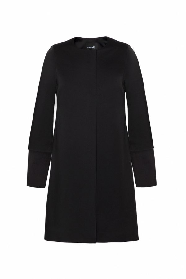 Coatally The Simple Coat Sleeves Long