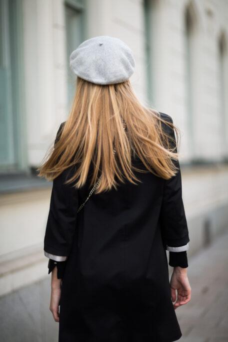 Reflective set on smart coat