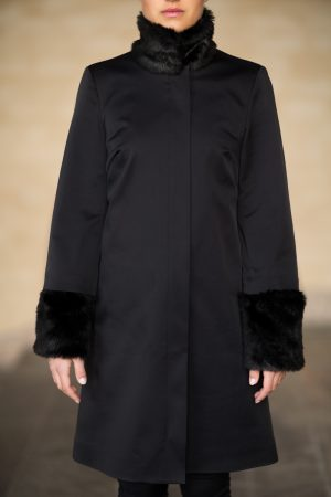 Coatally The Powerfulally Detail Black Fur Set