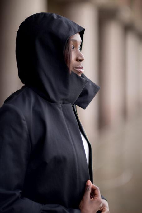 The Hedvig smart female coat